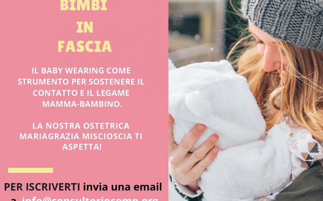 CEMP – Baby wearing – bimbi in fascia